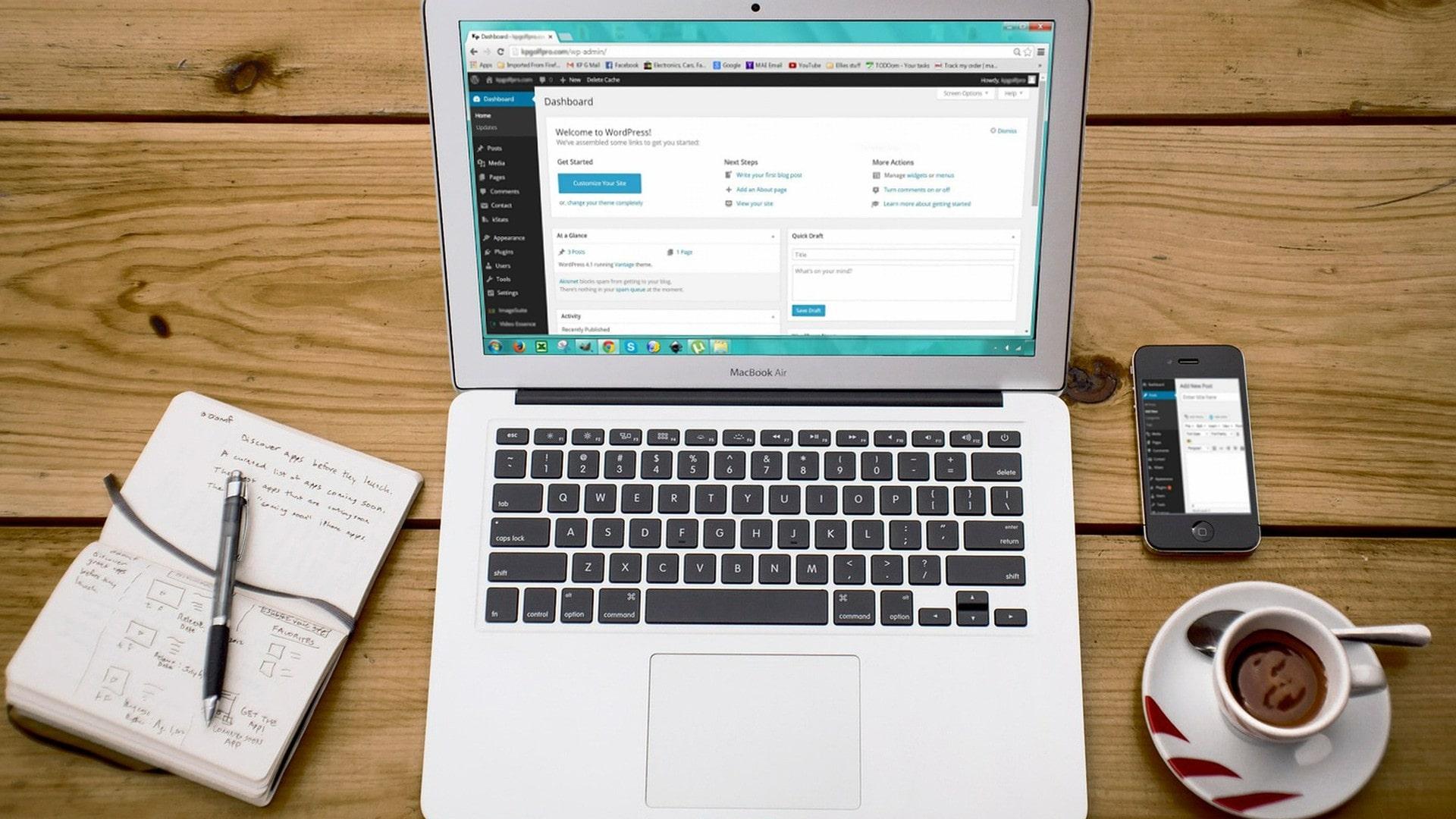 créer un site web à moindre coût