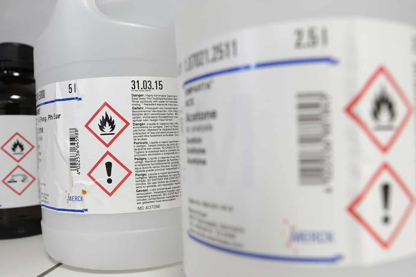Conditionnement des produits chimiques
